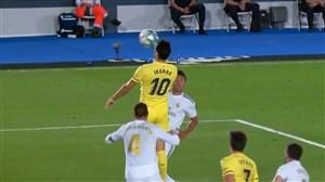 گل اول ویارئال به رئال مادرید توسط ایبورا