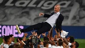 11 عنوان قهرمانی رئال مادرید تحت هدایت زیدان