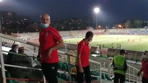 حضور دستیاران اسکوچیچ در ورزشگاه دستگردی