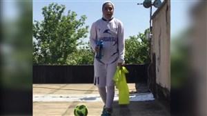 پیام تبریک بانوان شهرداری بم پس از قهرمانی در لیگ
