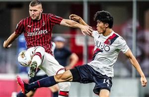 میلان 5-1 بولونیا: پیروزیهای روسونری ادامه دارد