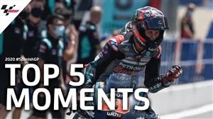 5 لحظه برتر Moto gp اسپانیا در سال 2020