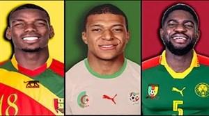 نگاهی به ملیت اصلی بازیکنان تیم ملی فرانسه