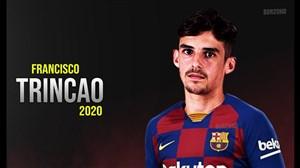 تمامی 20 گل ترینکائو ستاره آیندهدار تیم بارسلونا(2019/20)