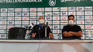 نشست خبری سهراب بختیاری زاده سرمربی شهرخودرو