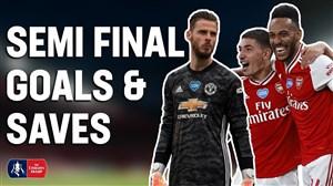 برترین گلها و سیوهای نیمه نهایی جام حذفی انگلیس 20-2019