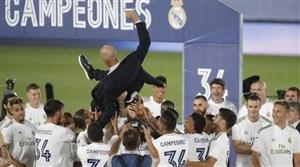 قهرمانیهای رئال مادرید با هدایت زیدان