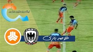 خلاصه بازی شاهین بوشهر 1 - سایپا 1