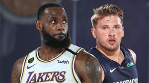 خلاصه بسکتبال لس آنجلس لیکرز - دالاس ماوریکس