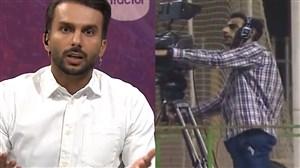 واکنش تند گزارشگر بازی پرسپولیس به انتقاد میثاقی