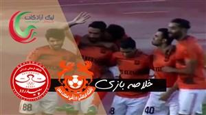 خلاصه بازی مس کرمان 1 - سپیدرود رشت 0