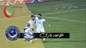 خلاصه بازی ملوان بندر انزلی 7 - علم و ادب تبریز 0