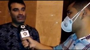 علی نظرمحمدی و فرار از پاسخ به سئوال جنجالی