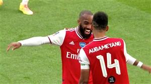 25 گل دیوانه وار آرسنال در فصل 20-2019