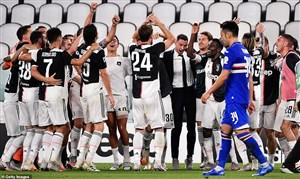 یووه 2-0 سمپدوریا: و سرانجام نهمین قهرمانی پیاپی
