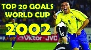 20 گل منتخب و تماشایی جام جهانی 2002