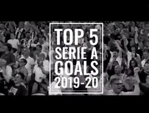 5 گل برتر یوونتوس در فصل 20-2019