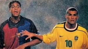 بازی خاطرهانگیز و جالب بارسلونا و برزیل