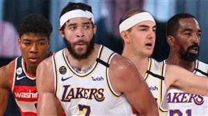 خلاصه بسکتبال لس آنجلس لیکرز - واشنگتن ویزاردز
