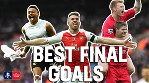 برترین گلهای فینال در جام حذفی انگلیس