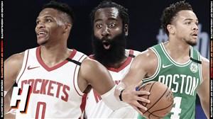 خلاصه بسکتبال بوستون سلتیکس - هیوستون راکتس