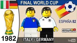 فینال جام جهانی 1982 و قهرمانی ایتالیا به روایت لگو