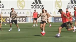 اولین تمرین رئال مادرید قبل از شروع مجدد لیگ قهرمانان