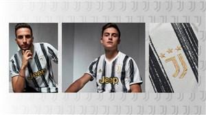 رونمایی از لباس جدید فصل 21-2020 تیم یوونتوس