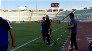 حال و هوای ورزشگاه یادگار امام پیش از شروع بازی