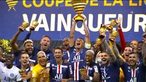جشن قهرمانی پاریسی ها در جام اتحادیه فرانسه