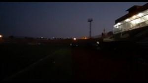 قطعی برق در  ورزشگاه بوشهر