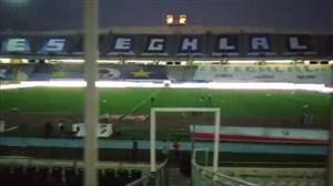 ورزشگاه آزادی در فاصله کمتر از 1ساعت تا آغاز بازی استقلال - سپاهان