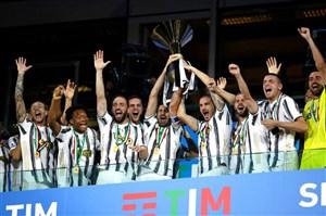 مراسم کامل اهدای جام قهرمانی سری آ به یوونتوس