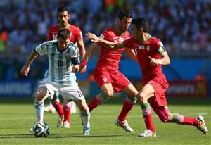 عملکرد لیونل مسی برابر تیم ملی ایران در جام جهانی