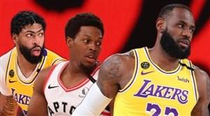 خلاصه بسکتبال تورنتو رپترز - لس آنجلس لیکرز