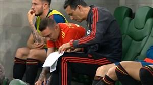 برترین لحظات آسپاس در تیم ملی اسپانیا