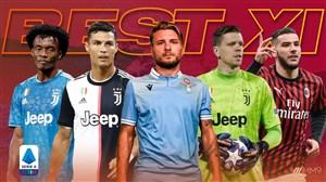 تیم منتخب سری آ ایتالیا در فصل 20-2019