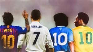 بهترین بازیکن تاریخ فوتبال جهان کیست؟