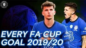 تمامی گلهای تیم چلسی در FA CUP فصل 20-2019