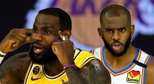 خلاصه بسکتبال لس آنجلس لیکرز - اوکلاهاما سیتی
