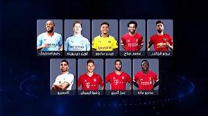 بهترین هافبکهای فصل 2019/20 فوتبال اروپا