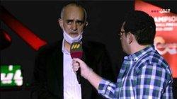 مصاحبه با محمدنبی قبل از شروع جشن قهرمانی