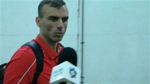حسینی: بعنوان یک بازیکن تنها به وظیفهام عمل میکنم