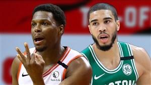خلاصه بسکتبال بوستون سلتیکس - تورنتو رپترز