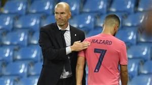 صحبتهای هازارد پس از حذف رئال مادرید از لیگ قهرمانان