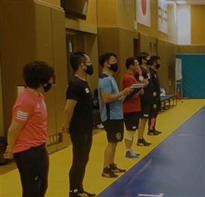آغاز تمرینات تیم ملی کشتی ژاپن با رعایت پروتکلهای بهداشتی