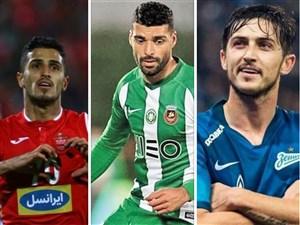سه ستاره ایرانی در بین 500 بازیکن برتر دنیا