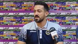 کنفرانس خبری تیم سپاهان قبل از دیدار برابر استقلال