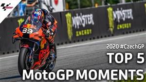 5 حرکت برتر مسابقات Moto gp در جمهوری چک
