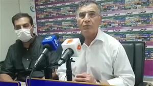کنفرانس خبری مجید جلالی بعد از برد مقابل نفت مسجد سلیمان